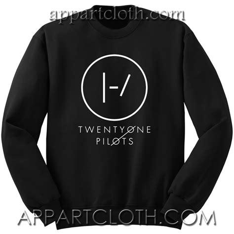 Sweater Twenty One Pilots Logo Redmerch twenty one pilots blurryface logo sweatshirt