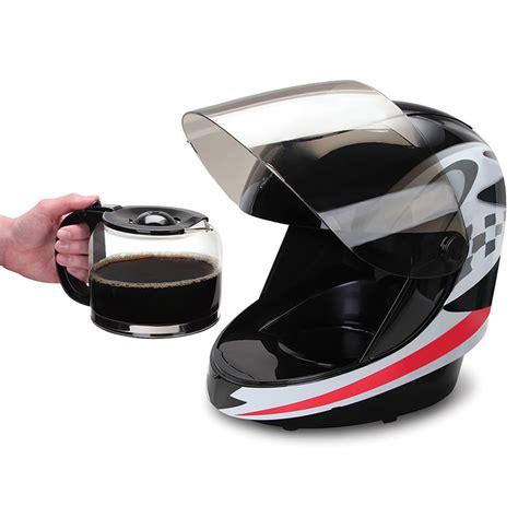 helmet design maker racing helmet coffee maker gentlemen start your grinders