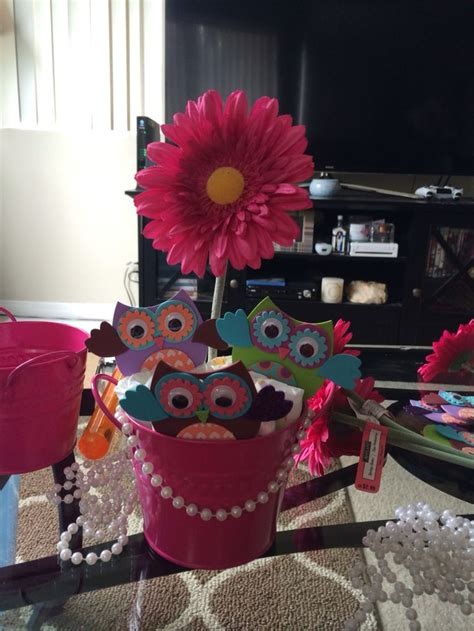 Owl Centerpiece For A Baby Shower My Crafts Pinterest Owl Centerpieces For Baby Shower
