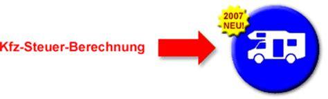 Kfz Versicherung Berechnen W Rttembergische by Kfz Steuer Rechner Neu 2018 Wohnmobile Informationen