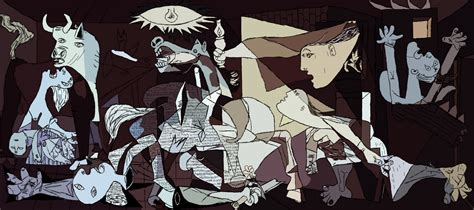 picasso paintings bombing of guernica concerning hobbits other things learn guernica