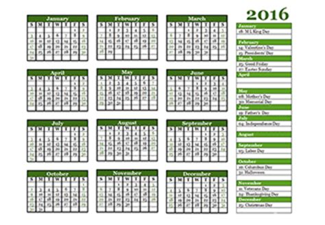 Calendar Labs 2016 2016 Calendar Templates 2016 Monthly Yearly