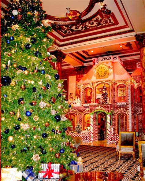 Gingerbread House Fairmont San Francisco by A Treat Gingerbread House Returns To The Fairmont