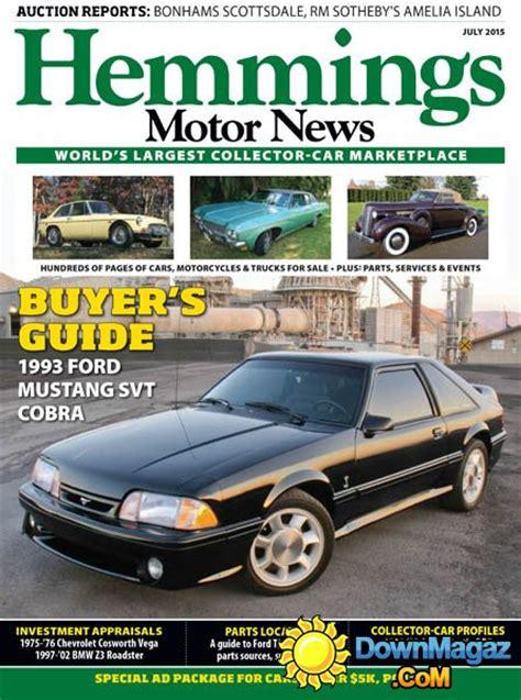 hemmings motor news classified ads hemmings motor news july 2015 187 pdf magazines