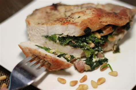 pork chops stuffed with feta and spinach cooking light low carb stuffed pork chops with spinach thriving on low