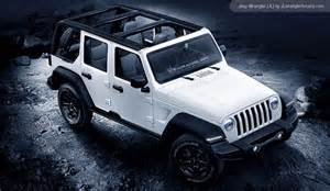 Jeep Wrangler Wrangler 2018 Jeep Wrangler And Wrangler Rendered