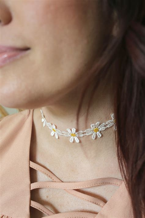 diy choker necklace a beautiful mess