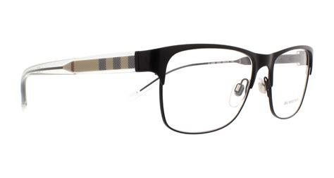 burberry eyeglasses be1289 1007 matte black 55mm ebay
