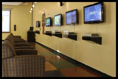 playstation room secure entertainment recent electronic installations