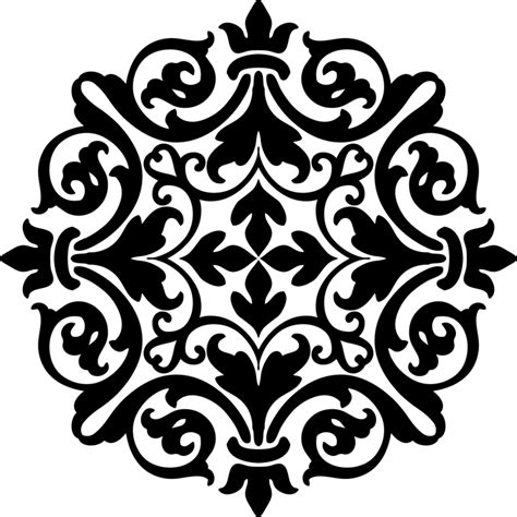 Wallpaper Sticker Motif Minimalis Black Square damask design border www pixshark images galleries