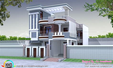 36x62 decorative modern house in india kerala home 30x60 modern decorative house plan kerala home design