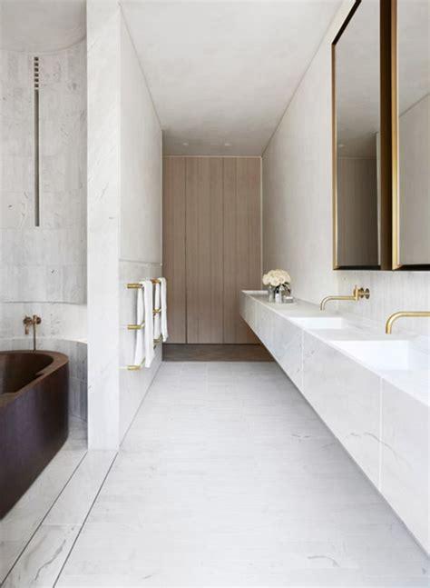 indigo bathroom white marble bathroom indigo slam est living bathrooms