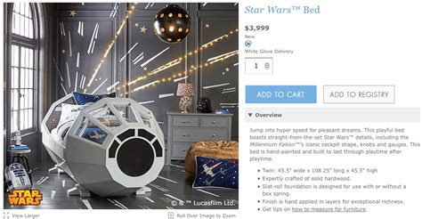 star wars bed tent wow that star wars bed from pottery barn really costs