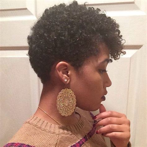 short natural tapered haircuts cute tapered natural short natural hairstyles