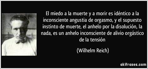 el miedo a la wilhelm reich