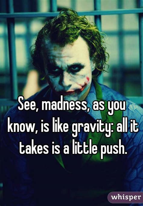 All Madness Takes City by See Madness As You Is Like Gravity All It Takes