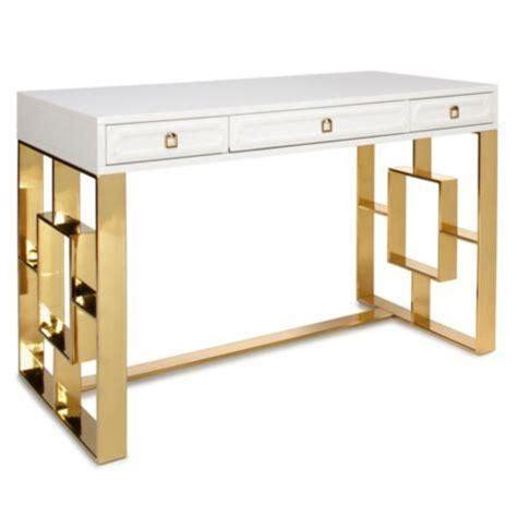 white and gold office desk best 25 gold desk ideas on pinterest white desk gold