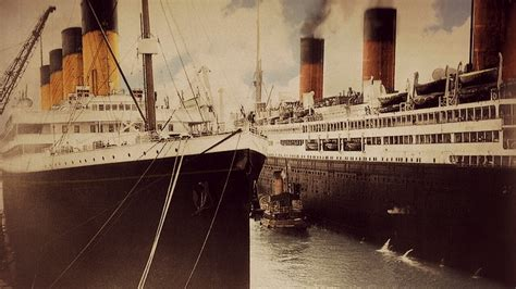 qi boat vs ship the pair by rms olympic on deviantart