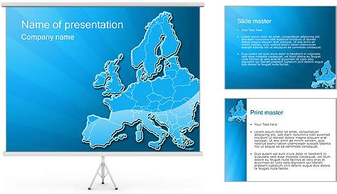 european union powerpoint template free powerpoint