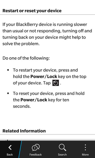 believe it and behave it how to restart reset and reframe your books faq how to restart reset your bb10 device blackberry