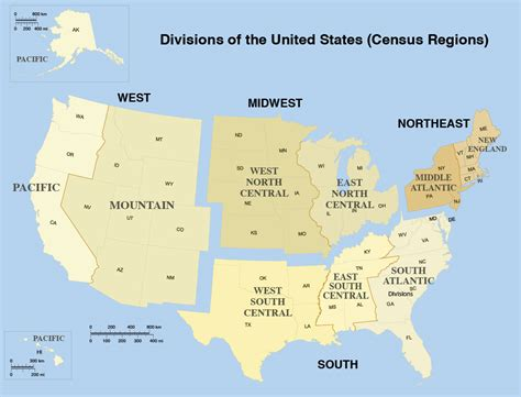 50 U S States And Territories list of us states by area nations project
