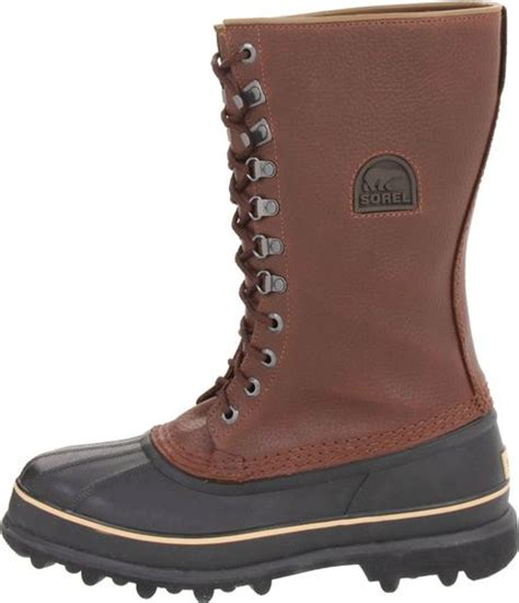 sorel mens boots on sale sorel mens maverick boot in brown for lyst