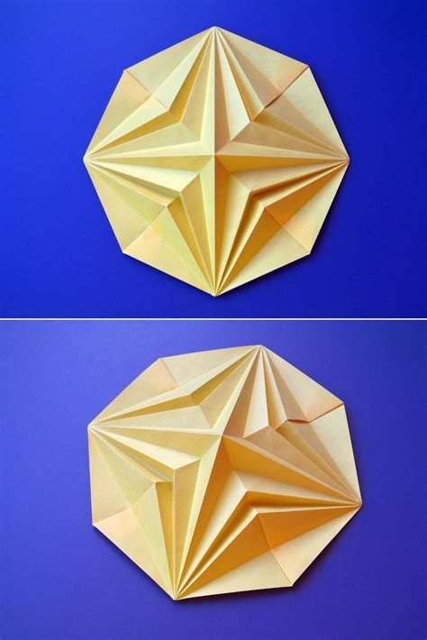 Geometric Origami - 1653 best cut bend fold crease curve pop images on