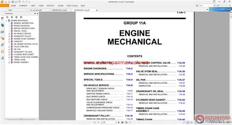 car repair manuals online free 2007 gmc yukon xl 1500 electronic valve timing mitsubishi mirage service manual pdf wiring diagrams wiring diagram