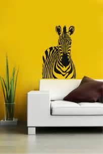 Animal Wall Decor by Zebra Animal Wall Vinyl Decal Sticker Mural