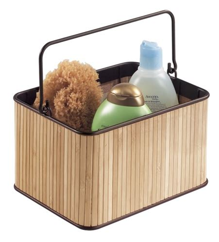 bathroom caddy for college bamboo shower caddy dorm bath caddy