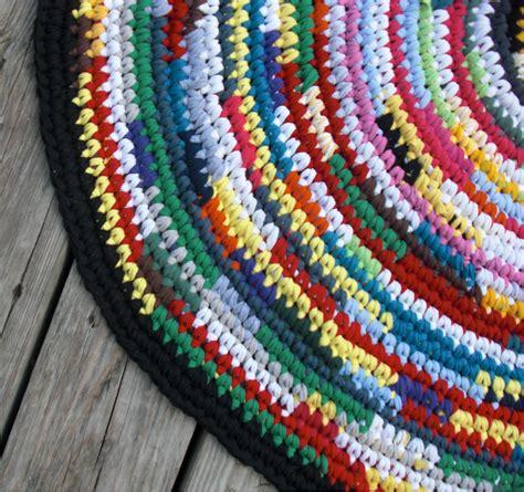 rag rug free crochet rug rugs sale