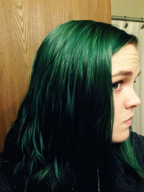 green hair box dye wrong hair colors
