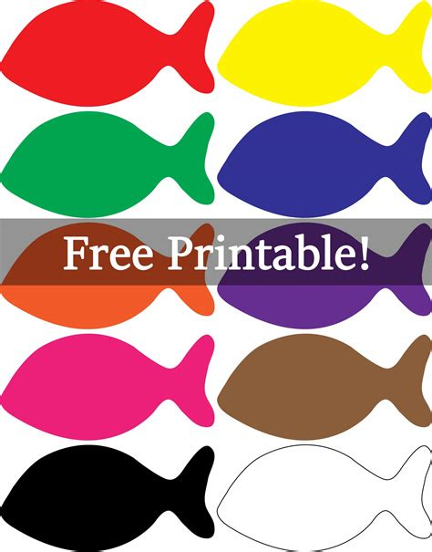 printable numbers on fish ideas for preschoolers