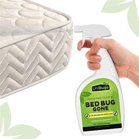 Bed Bug Mattress Treatment by Unbugs Bed Bug Spray Killer Pest Treatment