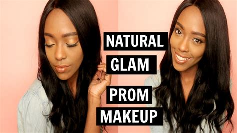 natural glam makeup tutorial natural glam summer makeup tutorial darkskin friendly