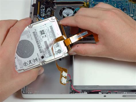 Hardisk Macbook Pro macbook pro 15 quot 2 duo model a1211 drive replacement ifixit