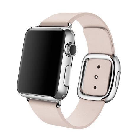 Leather Band For Apple 38mm 42mm genuine leather band bracelet modern buckle for