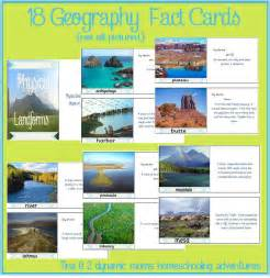 Definition Of Landscape In Geography Free Landform Fact Cards