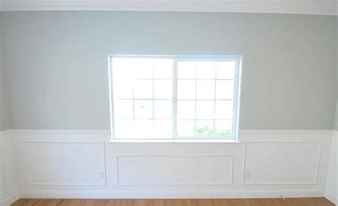 Frame And Panel Wainscoting Wainscoting Just Some Trim And White Paint I Want