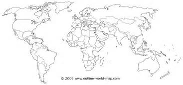 Black And White World Map by Pics Photos Black And White World Maps