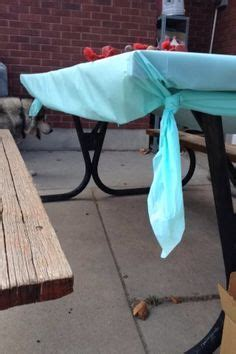 to hold tablecloth on table 25 best ideas about plastic tablecloth on