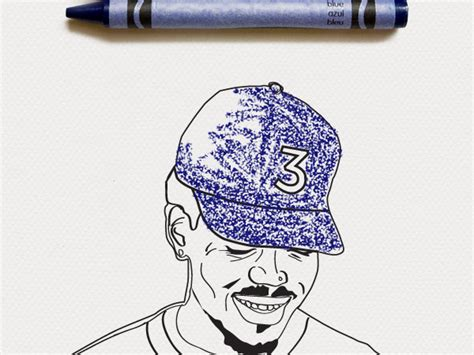 coloring book soundcloud chance color your own chance the rapper coloring book cover