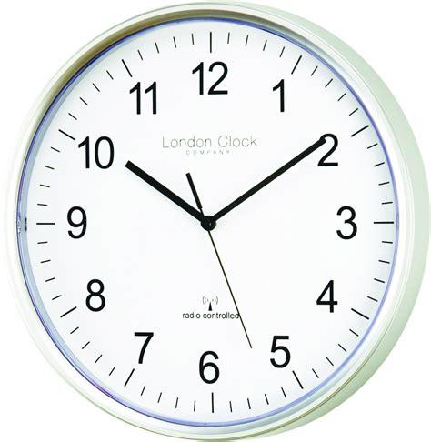 simple wall clock clock company radio controlled msf atomic modern