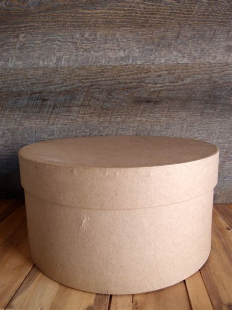 paper mache hat box