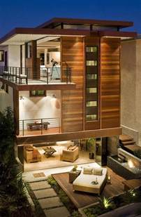 best interior wooden home design with two storey house