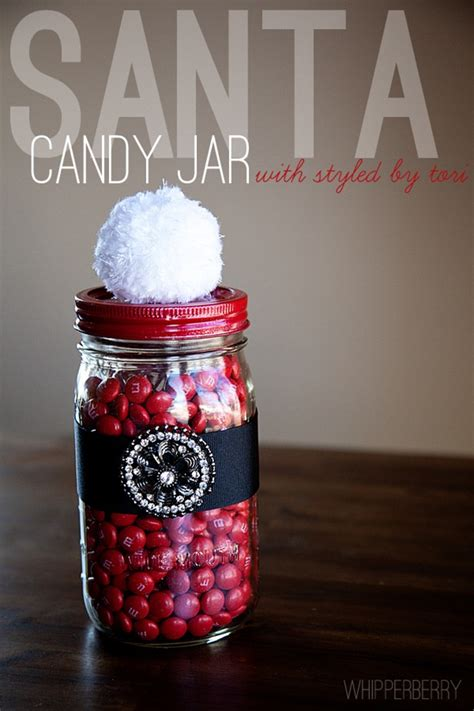 santa candy jar with styled by tori spelling whipperberry
