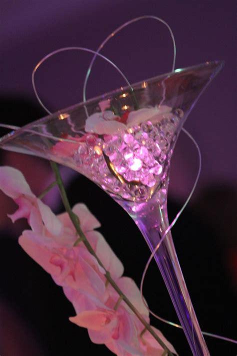 martini table centre de table vase 224 martini 70 cm perles d eau