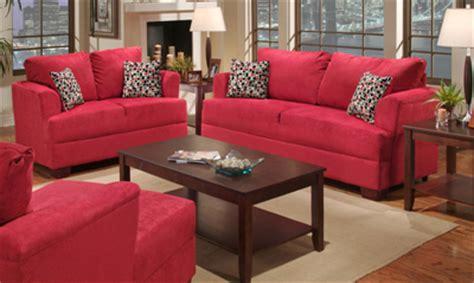 ashley red sofa ashley red sofa love 1 all american furniture buy 4
