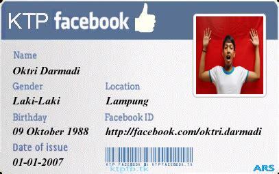 cara membuat ktp fb via hp cara membuat ktp facebook tutorial blog tips trik blog