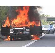 Pickup Catches Fire On US 340  YouTube
